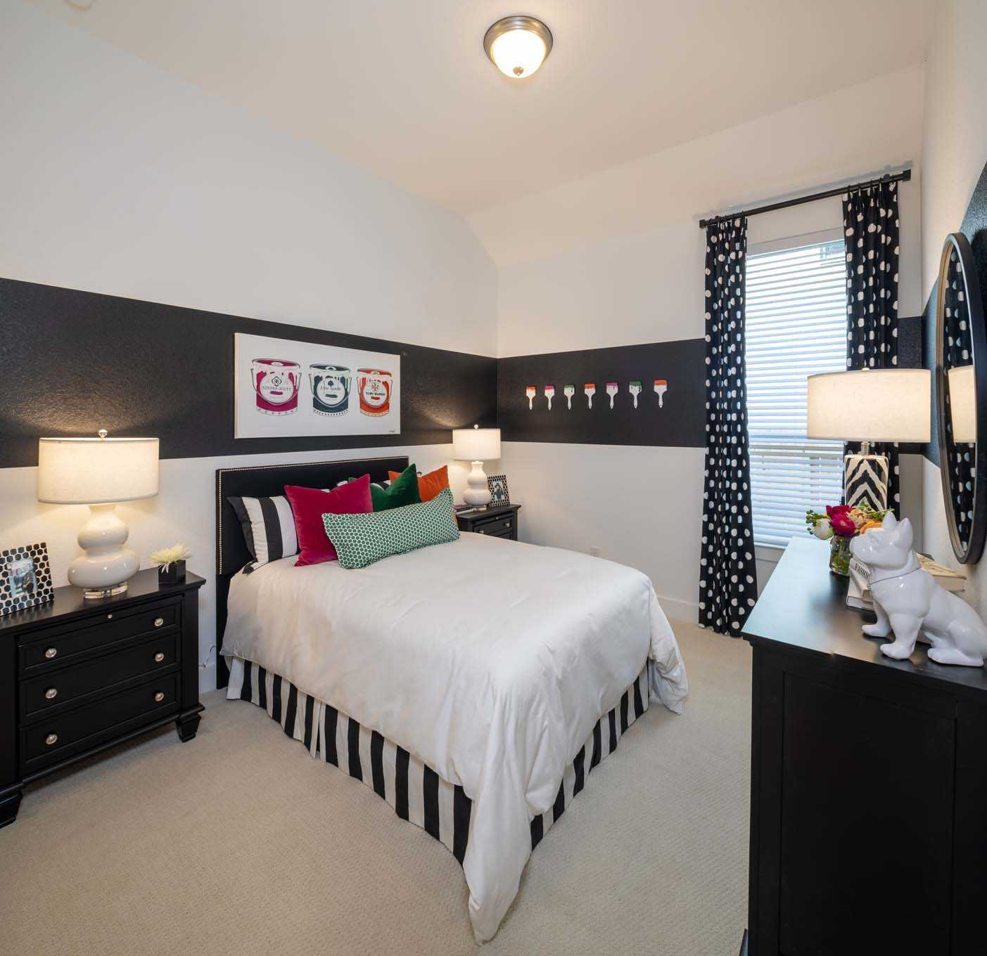 Bedroom featured in the Plan Canterbury By Highland Homes in Dallas, TX