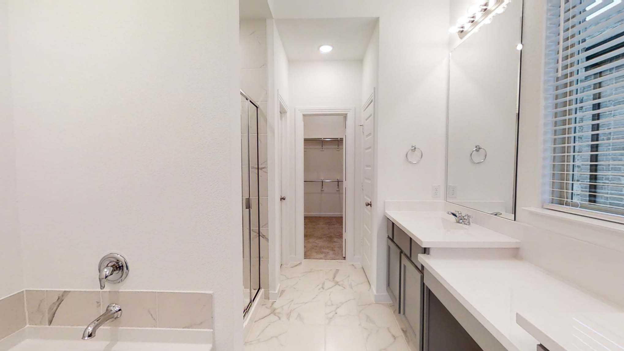 Bathroom featured in the Plan Denton By Highland Homes in Dallas, TX