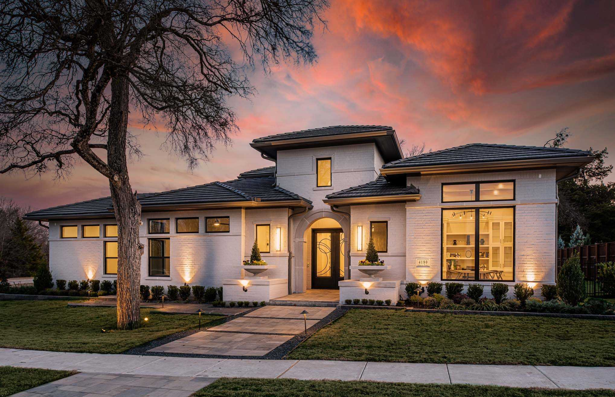 Exterior featured in the Plan 5200 CUSTOM PLAN By Huntington Homes in Dallas, TX