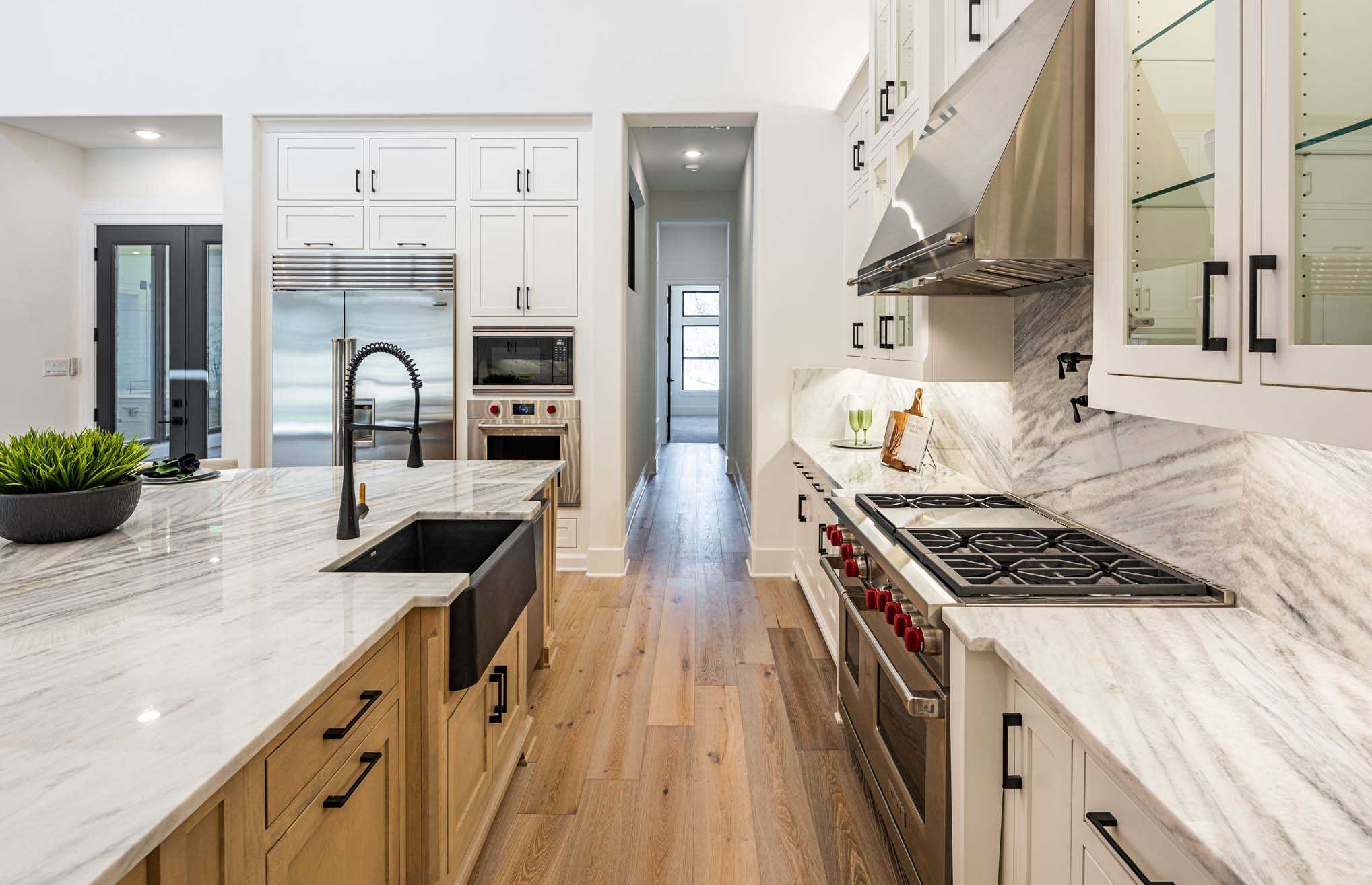 Kitchen featured in the Plan 5200 CUSTOM PLAN By Huntington Homes in Dallas, TX