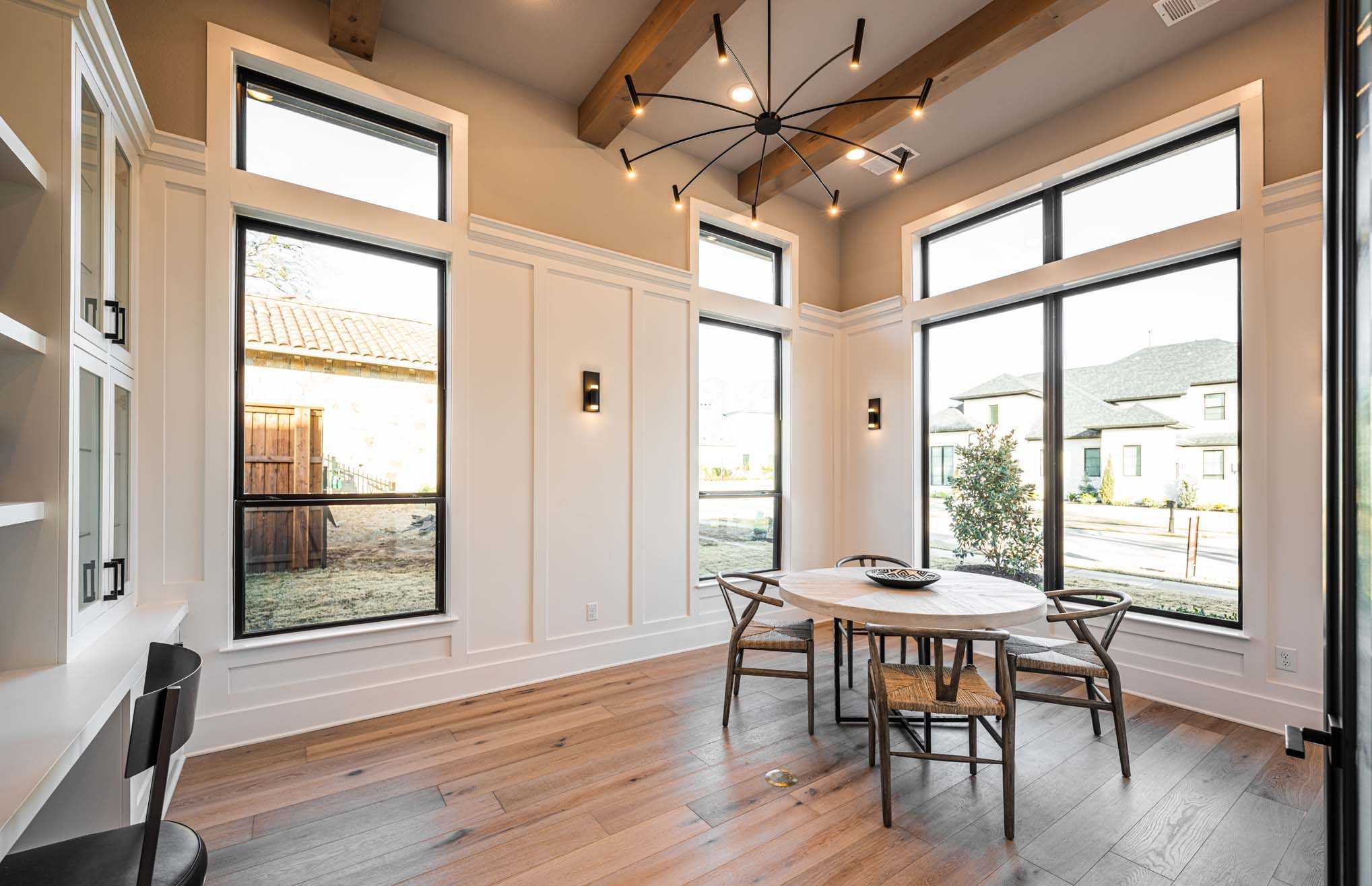 Living Area featured in the Plan 5200 CUSTOM PLAN By Huntington Homes in Dallas, TX