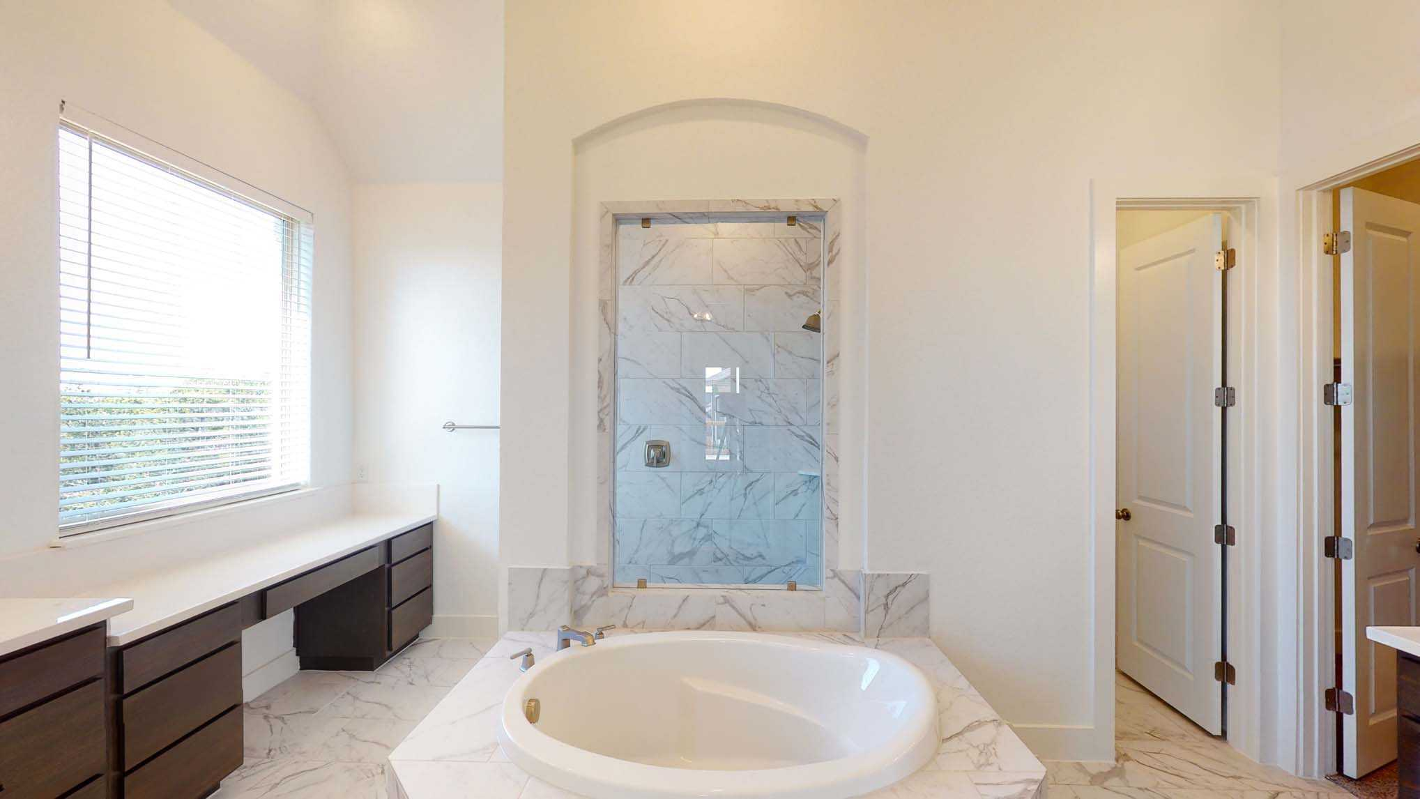 Bathroom featured in the Plan 215 By Highland Homes in San Antonio, TX