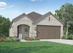 Plan Carlton - Thompson Farms: 40ft. lots: Van Alstyne, Texas - Highland Homes