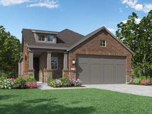 Plan Carlton - The Woodlands Hills: Artisan Series: Willis, Texas - Highland Homes