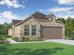 Plan Wales - Clements Ranch: 40ft. lots: Forney, Texas - Highland Homes