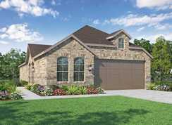 Plan Wales - Sandbrock Ranch: 45ft. lots: Aubrey, Texas - Highland Homes