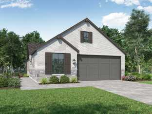 Plan Windsor - Wolf Ranch: Georgetown, Texas - Highland Homes