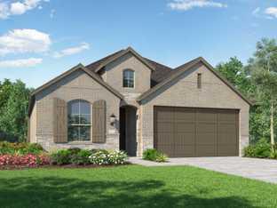 Plan Bentley - Crosswinds: 50ft. lots: Kyle, Texas - Highland Homes