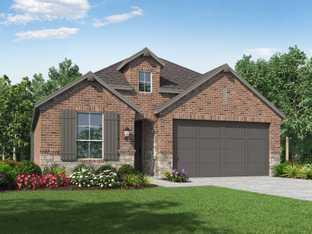 Plan Bentley - Sandbrock Ranch: 45ft. lots: Aubrey, Texas - Highland Homes