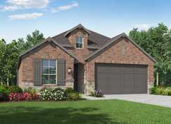 Plan Bentley - Grand Central Park: 40ft. lots: Conroe, Texas - Highland Homes