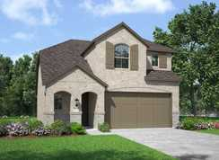 Plan Lyndhurst - Clements Ranch: 40ft. lots: Forney, Texas - Highland Homes