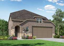 Plan Windermere - Meridiana: 40ft. lots: Iowa Colony, Texas - Highland Homes