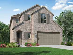 Plan Cotswold - Meridiana: 40ft. lots: Iowa Colony, Texas - Highland Homes