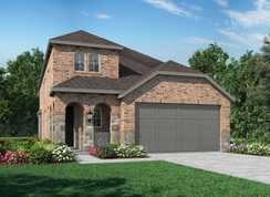 Plan Everleigh - The Groves: 40ft. lots: Humble, Texas - Highland Homes