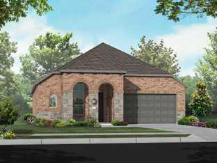 Plan Glenhurst - Fulbrook on Fulshear Creek: 50ft. lots: Fulshear, Texas - Highland Homes