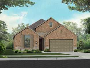 Plan Glenhurst - Davis Ranch: 50ft. lots: San Antonio, Texas - Highland Homes
