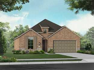 Plan Ashwood - Cambridge Crossing: Artisan Series - 50ft. lots: Celina, Texas - Highland Homes