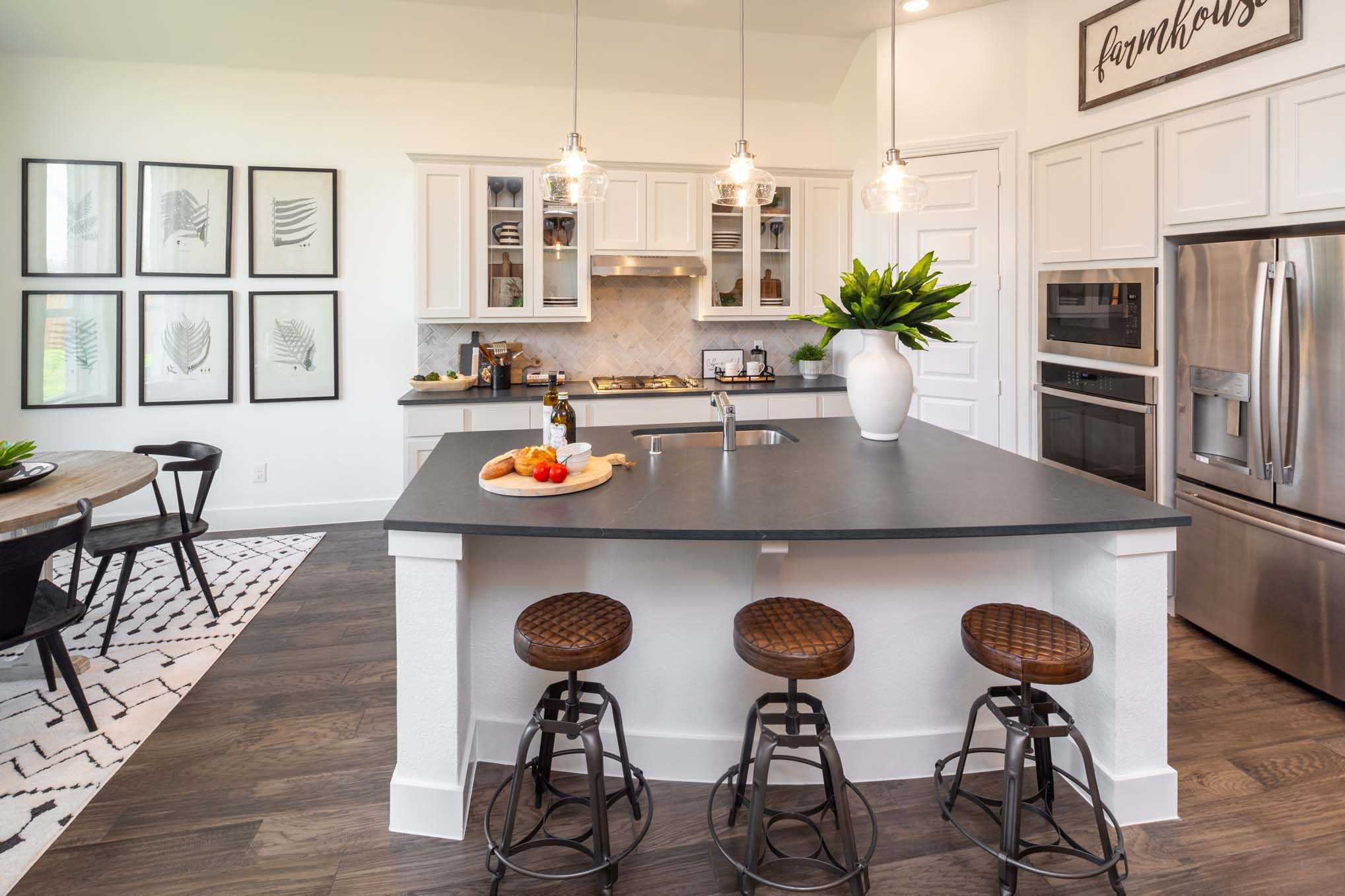 Kitchen featured in the Plan Ashwood By Highland Homes in Houston, TX