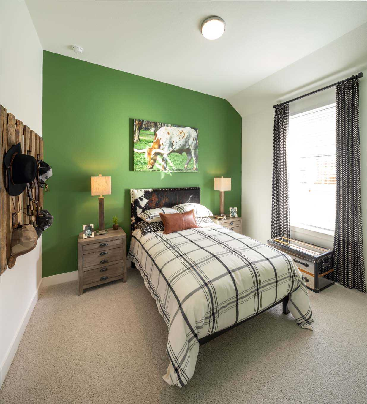 Bedroom featured in the Plan Ashwood By Highland Homes in Houston, TX
