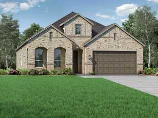 Plan Amberley - Highlands at Mayfield Ranch: 50ft. lots: Round Rock, Texas - Highland Homes