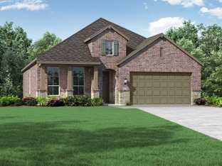 Plan Amberley - Gateway Parks: 50ft. lots: Forney, Texas - Highland Homes
