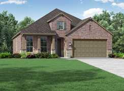 Plan Amberley - NorthGrove: Magnolia, Texas - Highland Homes