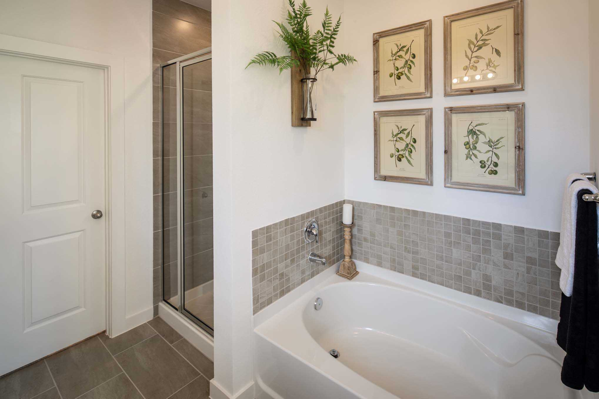 Bathroom featured in the Plan Amberley By Highland Homes in Houston, TX