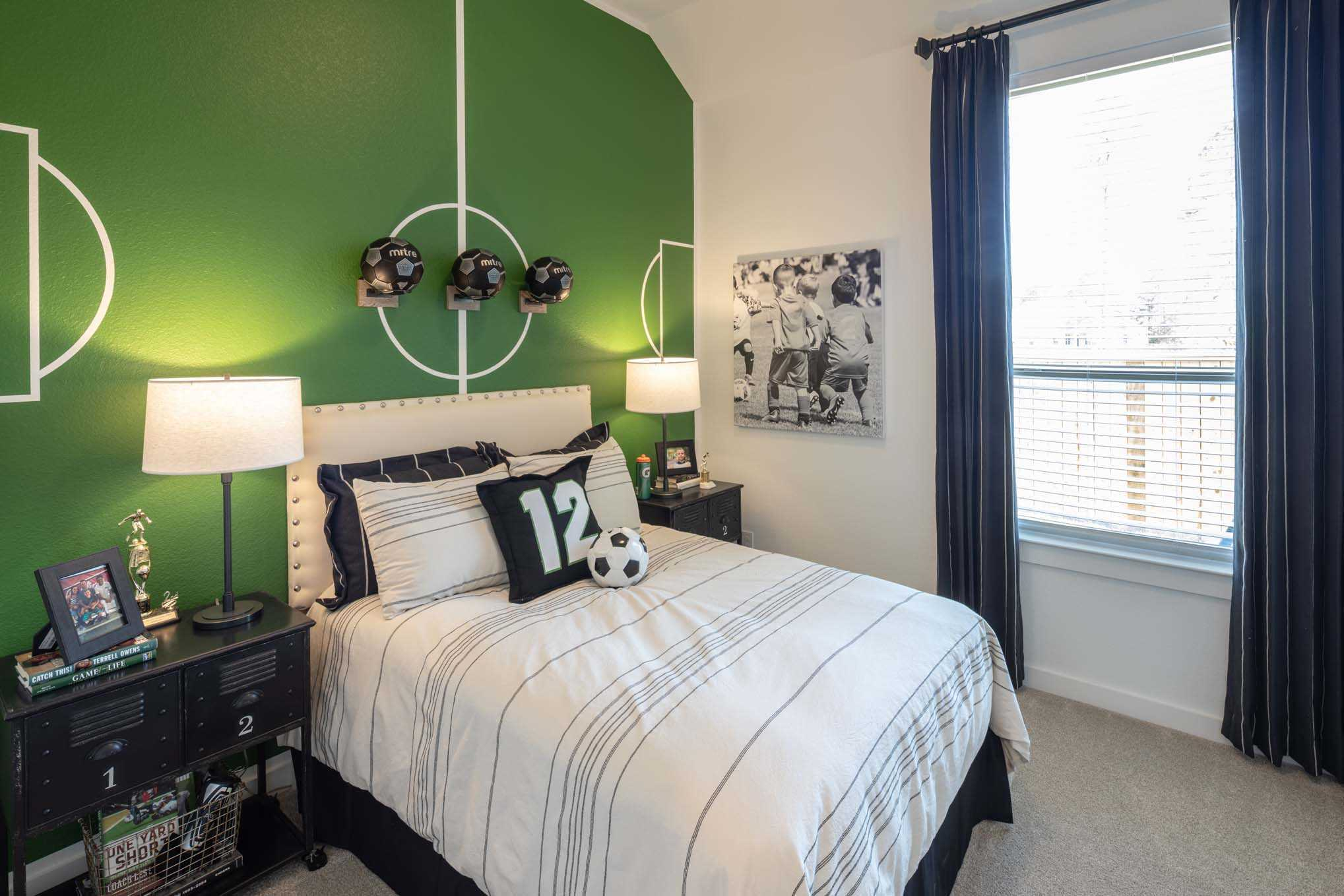 Bedroom featured in the Plan Amberley By Highland Homes in Houston, TX