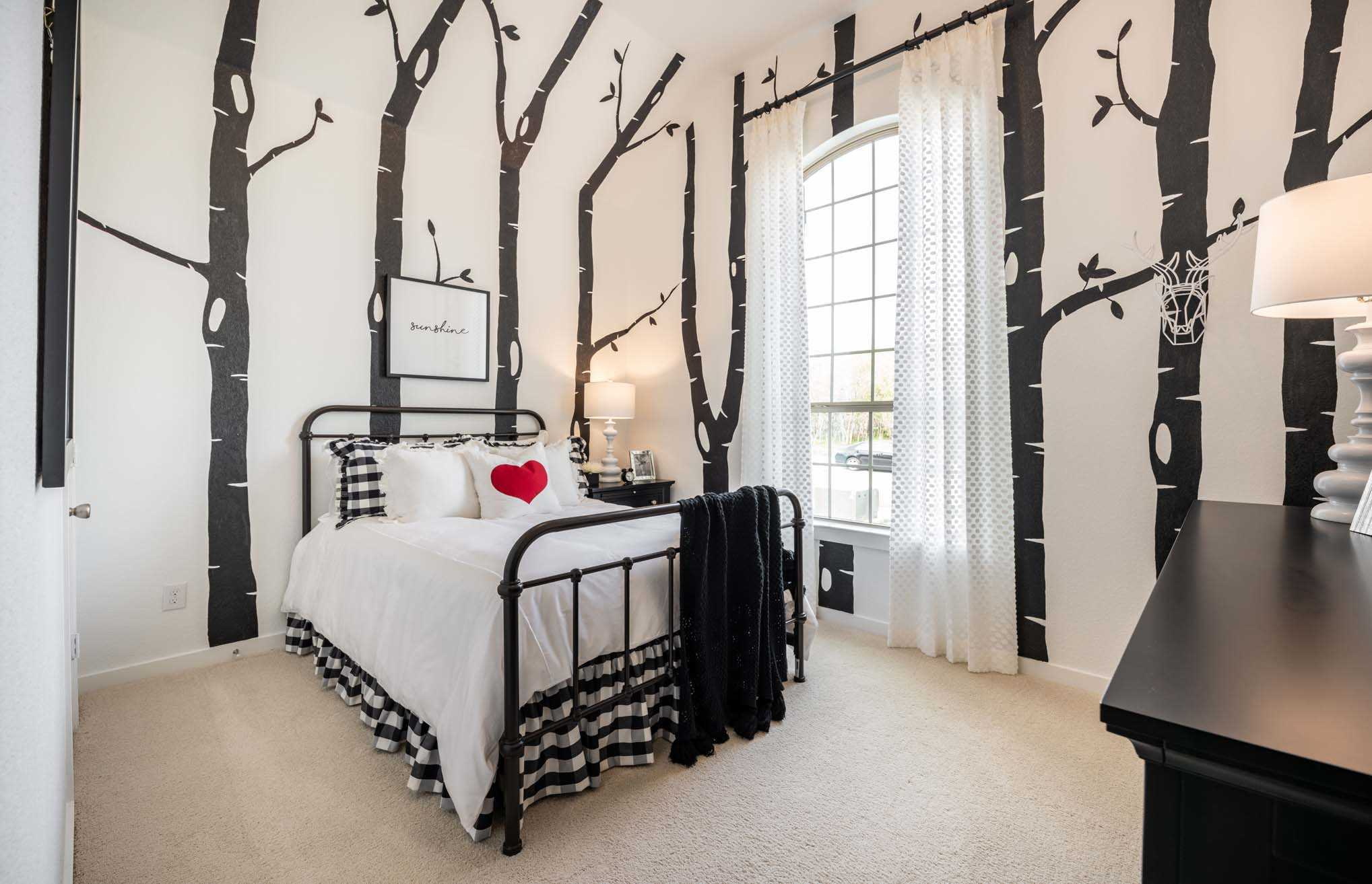 Bedroom featured in the Plan Dorchester By Highland Homes in Houston, TX