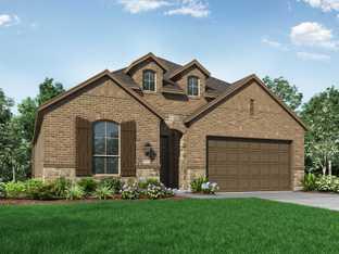Plan Davenport - Devonshire: 50ft. lots: Forney, Texas - Highland Homes