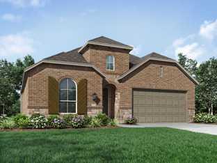 Plan Davenport - La Cima: 50ft. lots: San Marcos, Texas - Highland Homes