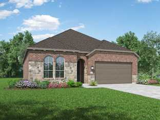 Plan Denton - Fulbrook on Fulshear Creek: 50ft. lots: Fulshear, Texas - Highland Homes