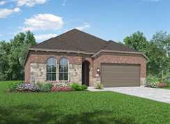 Plan Denton - Davis Ranch: 50ft. lots: San Antonio, Texas - Highland Homes