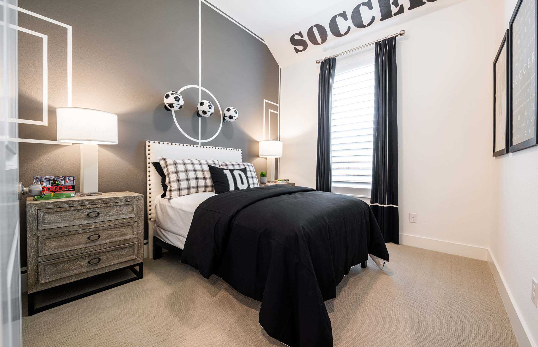 Bedroom featured in the Plan Denton By Highland Homes in Houston, TX