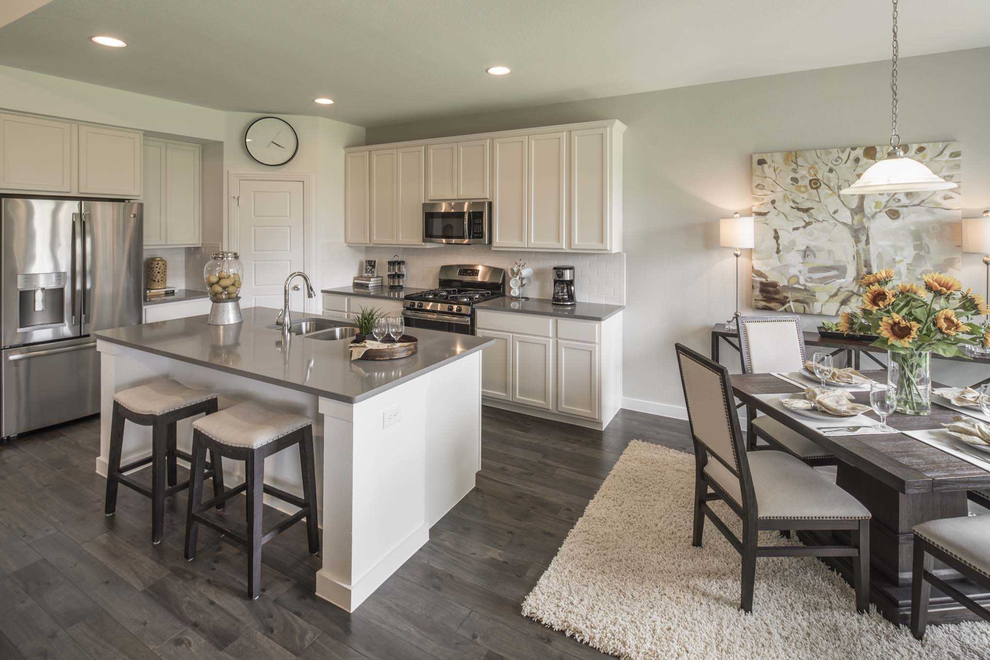 Kitchen featured in the Plan Westbury By Highland Homes in Houston, TX