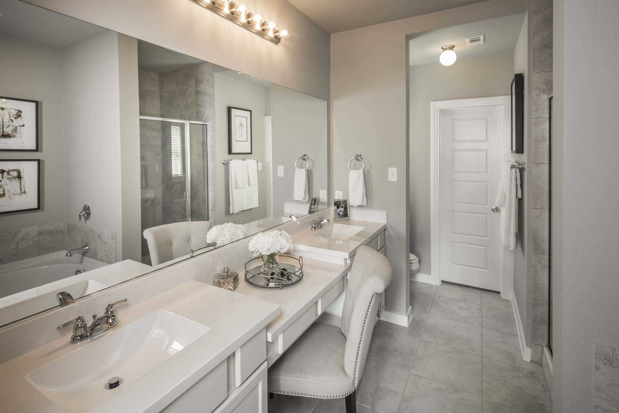 Bathroom featured in the Plan Westbury By Highland Homes in Houston, TX