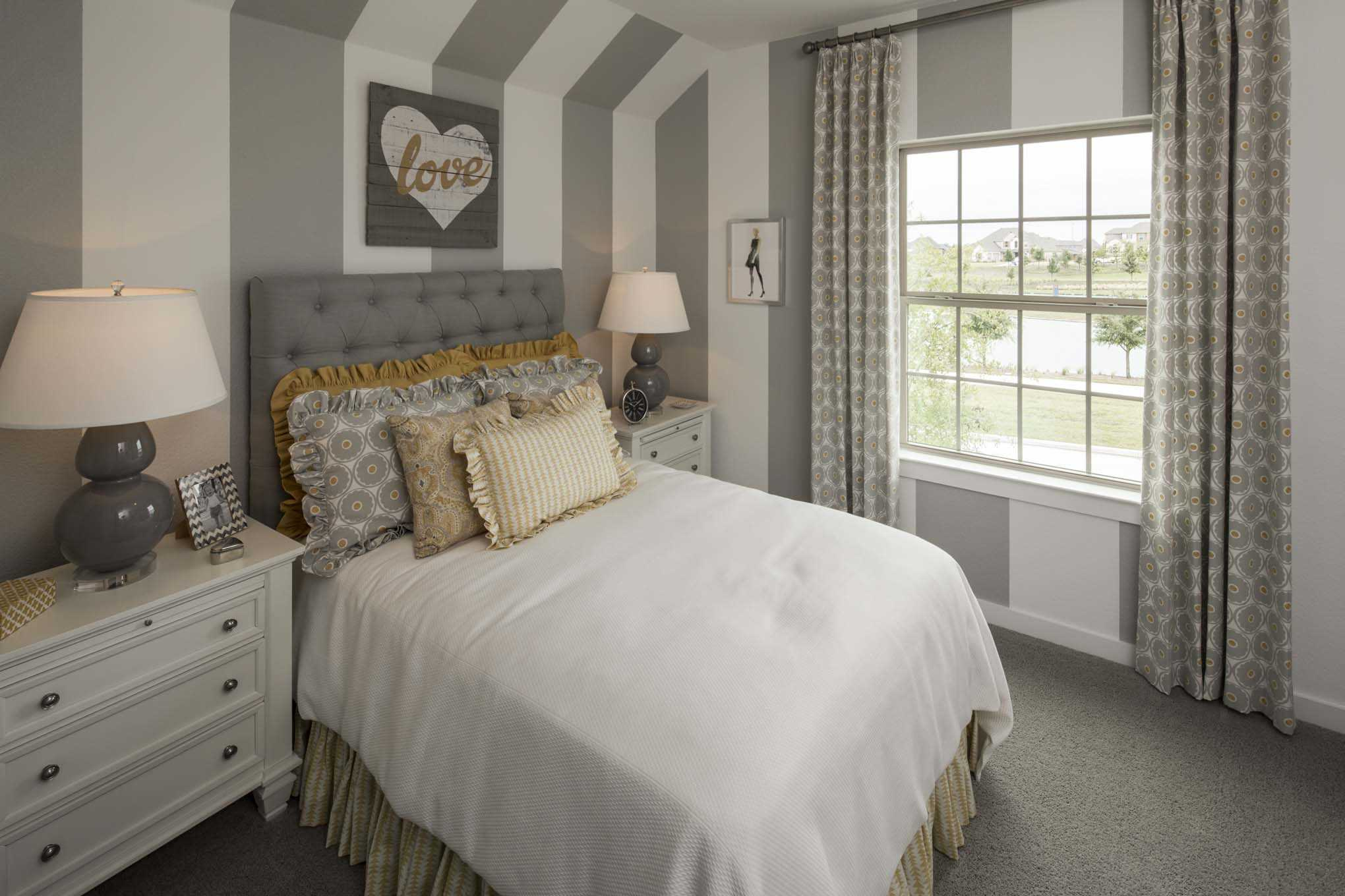 Bedroom featured in the Plan Westbury By Highland Homes in Houston, TX