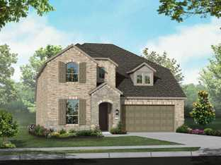 Plan Richmond - Arrowbrooke: 50ft. lots: Aubrey, Texas - Highland Homes