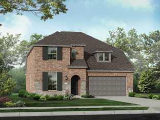 Plan Richmond - Davis Ranch: 50ft. lots: San Antonio, Texas - Highland Homes