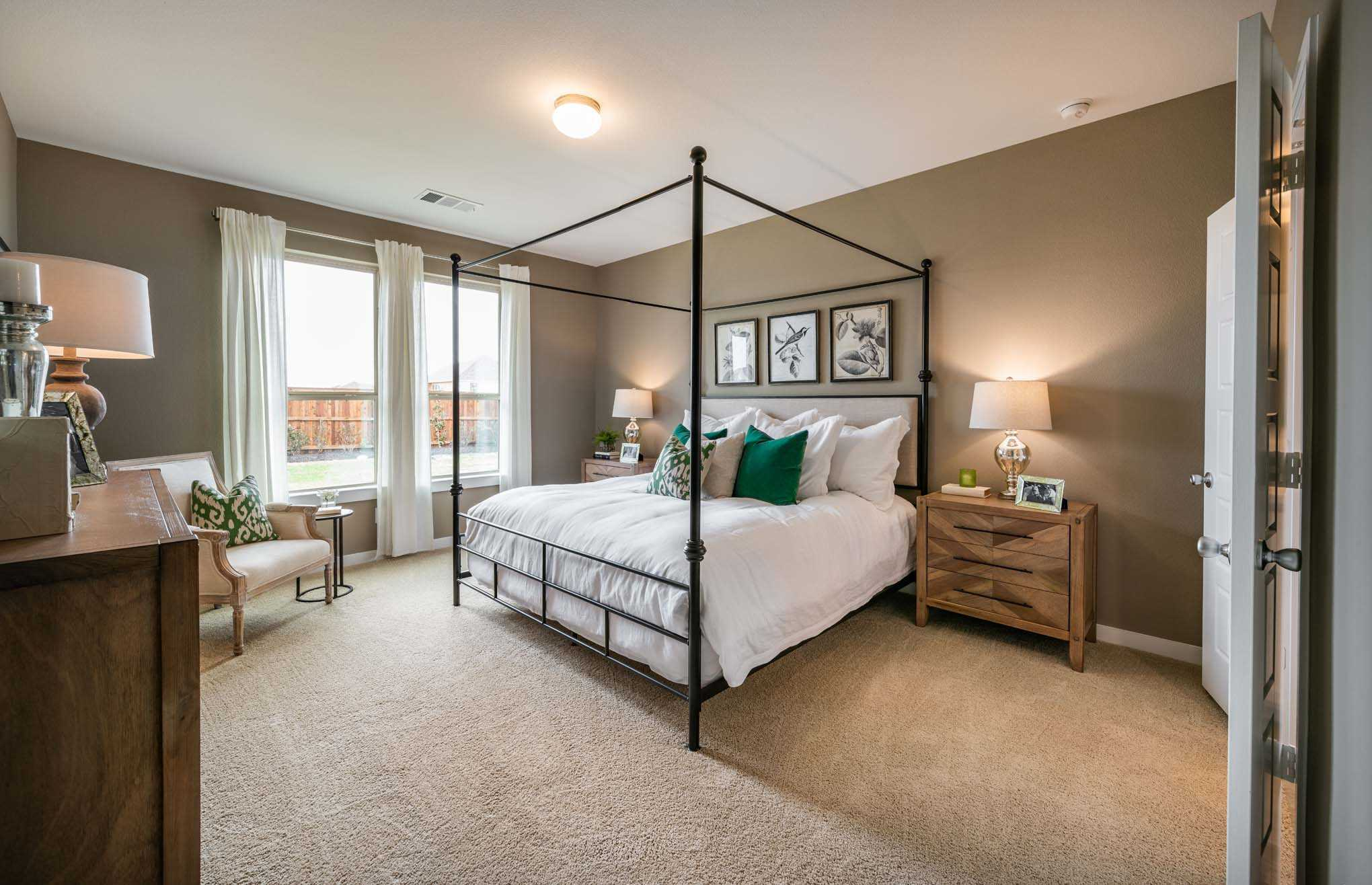 Bedroom featured in the Plan Richmond By Highland Homes in Houston, TX