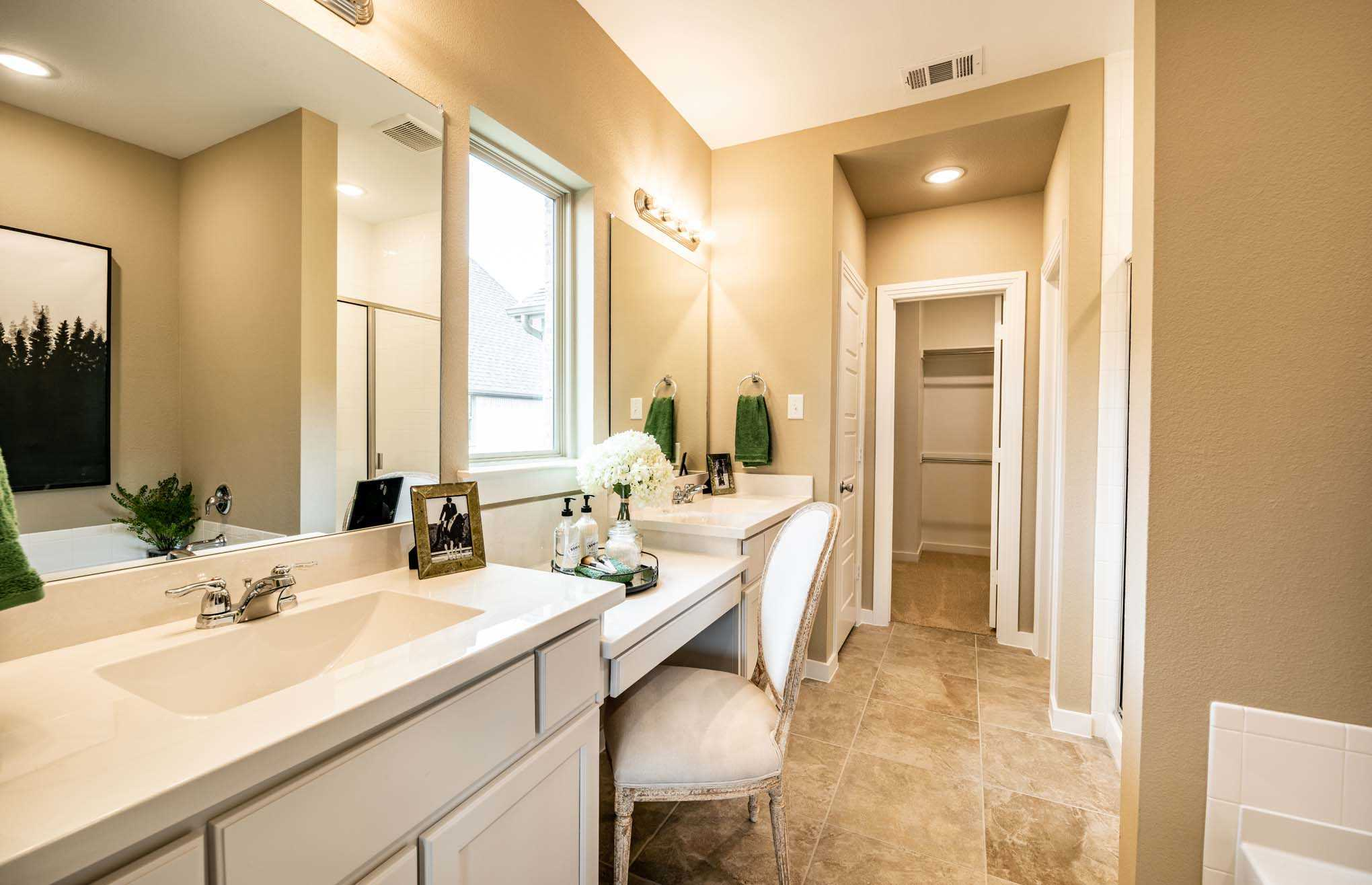 Bathroom featured in the Plan Richmond By Highland Homes in Houston, TX