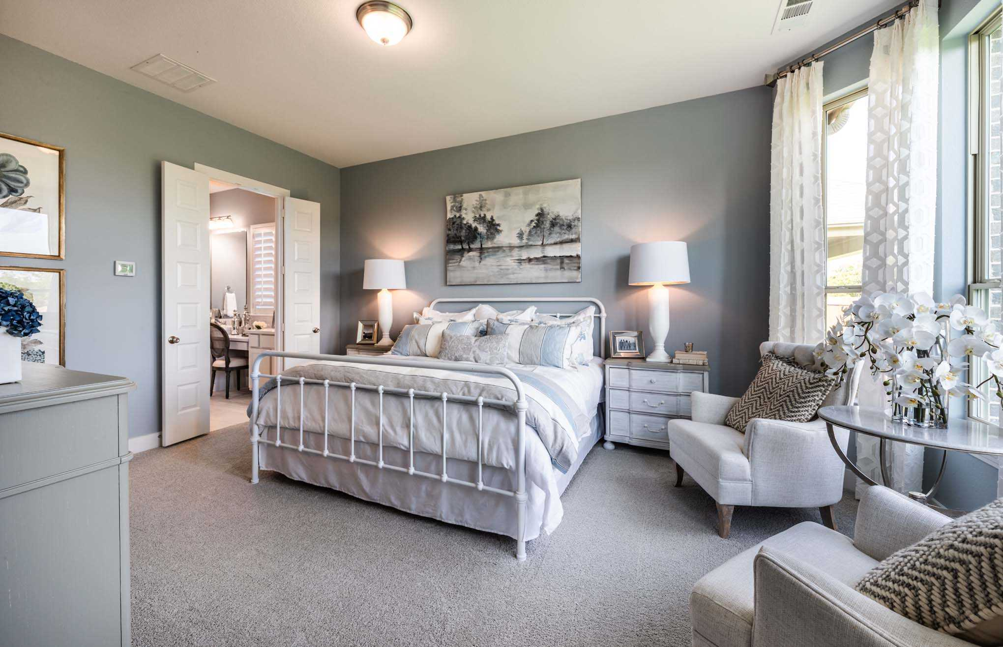 Bedroom featured in the Plan Waverley By Highland Homes in Houston, TX