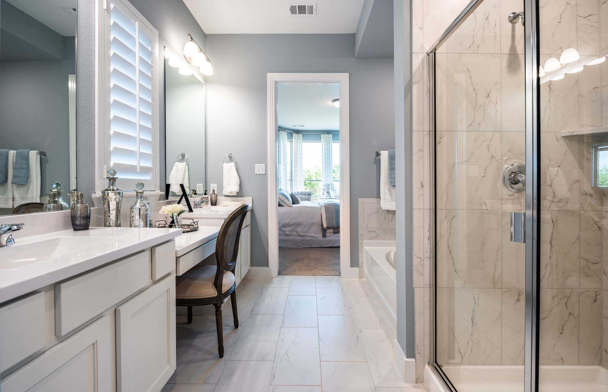 Bathroom featured in the Plan Waverley By Highland Homes in Houston, TX