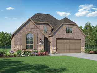 Plan Dorchester - M3 Ranch: 50ft. lots: Mansfield, Texas - Highland Homes