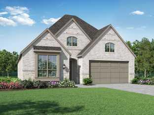 Plan Dorchester - Sandbrock Ranch: 50ft. lots: Aubrey, Texas - Highland Homes