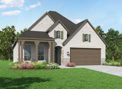 Plan Amberley - Liberty: Artisan Series - 50ft. lots: Melissa, Texas - Highland Homes