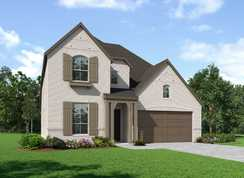 Plan Richmond - Woodforest: The Crest: Montgomery, Texas - Highland Homes