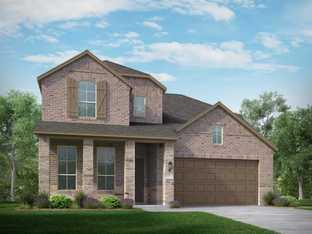 Plan Redford - Fronterra at Westpointe: 50ft. lots: San Antonio, Texas - Highland Homes