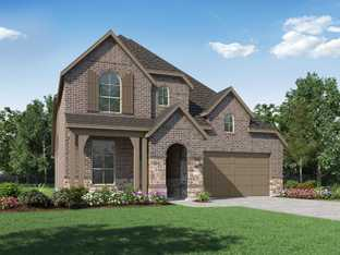 Plan Waverley - Fulbrook on Fulshear Creek: 50ft. lots: Fulshear, Texas - Highland Homes