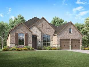 Plan 213 - Sandbrock Ranch: 60ft. lots: Aubrey, Texas - Highland Homes